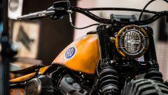 Harley Davidson Farm Machine, dettaglio del faro anteriore