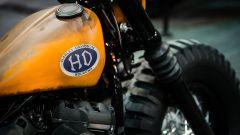 Harley Davidson Farm Machine, dettaglio del serbatoio
