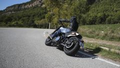 Harley Davidson Fat Bob 114 MY 2018 alla guida sembra leggerissima