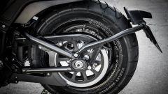 Harley Davidson Fat Bob 114 MY 2018: dettaglio del retrotreno