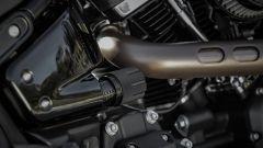 Harley Davidson Fat Bob 114 MY 2018: il pomello per regolare l'ammortizzatore posteriore