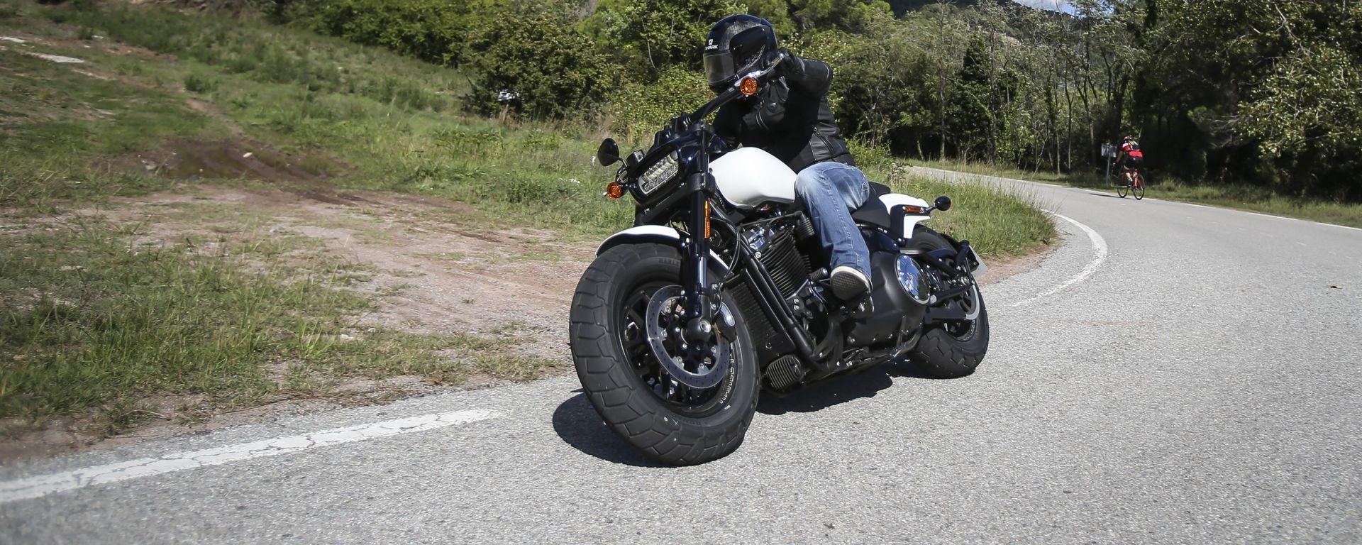 Harley Davidson Fat Bob 114 MY 2018: il test drive