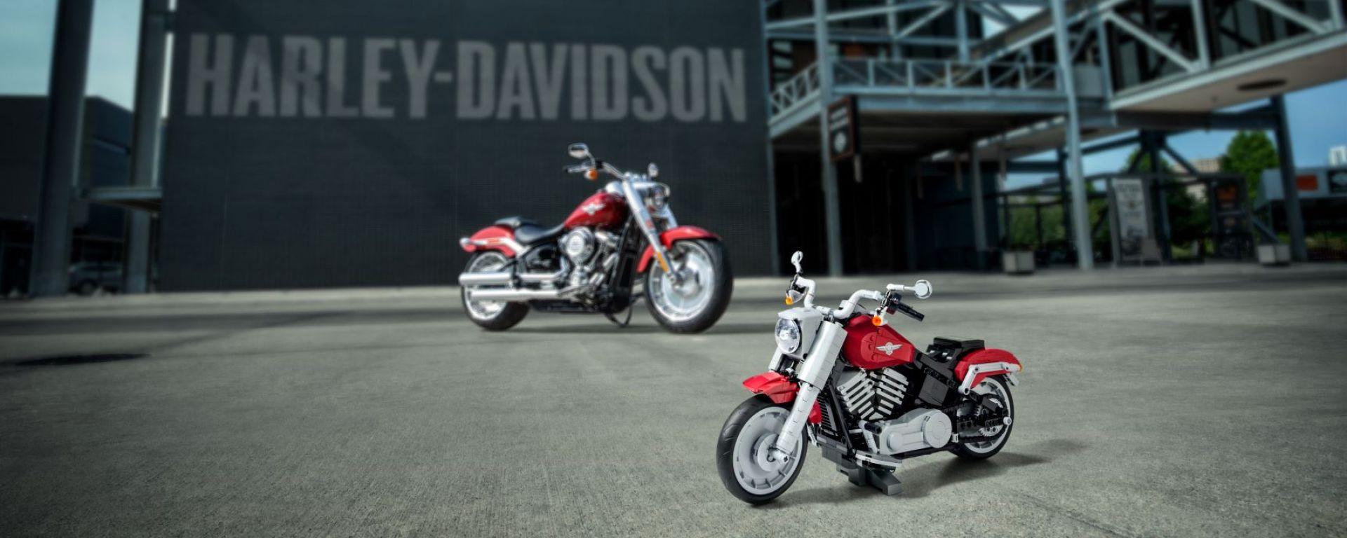 Harley-Davidson Fat Boy: da agosto puoi fartela coi Lego