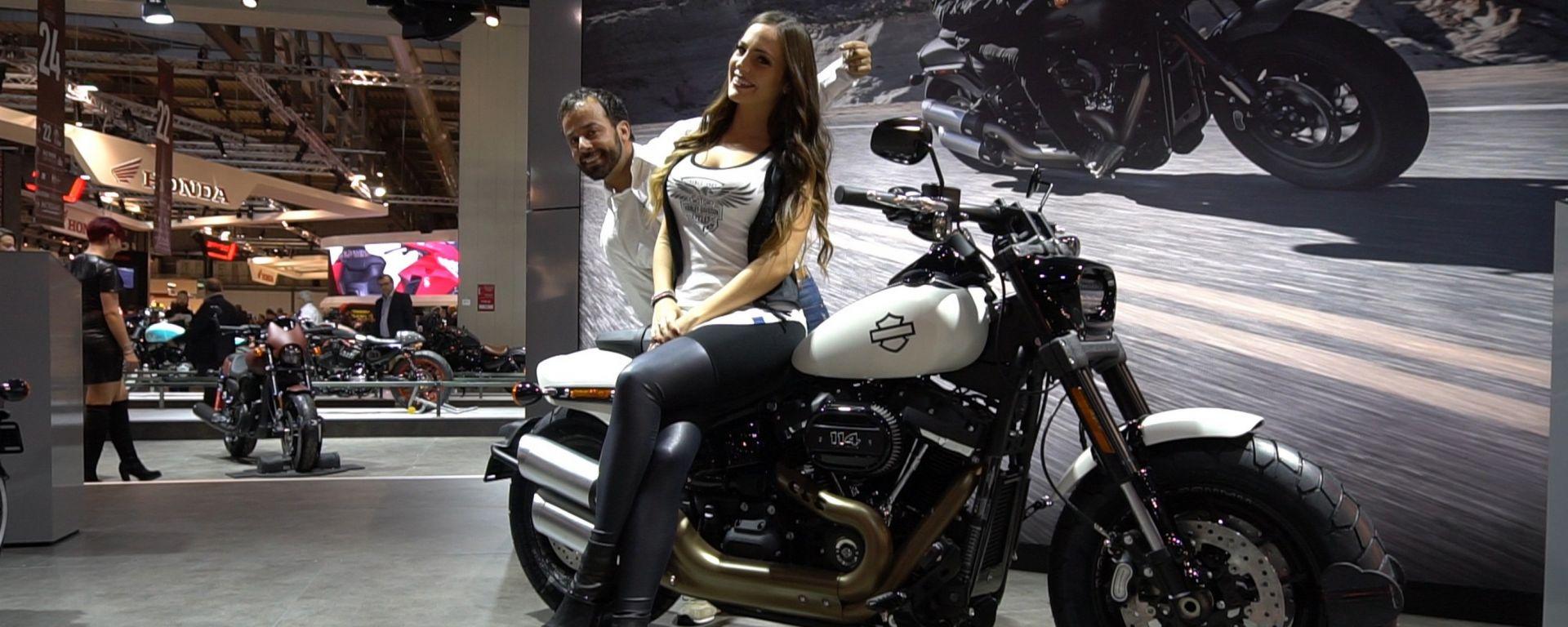 Harley Davidson Fat Bob 2018, tutta nuova a Eicma [VIDEO]