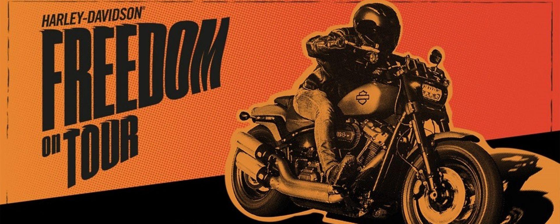 Harley Davidson Freedom on Tour 2018