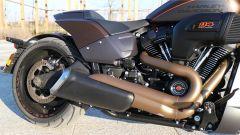 Harley-Davidson FXDR 114: dettaglio dello scarico