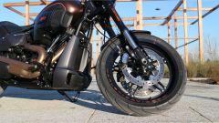 Harley-Davidson FXDR 114: la forcella è a steli rovesciati