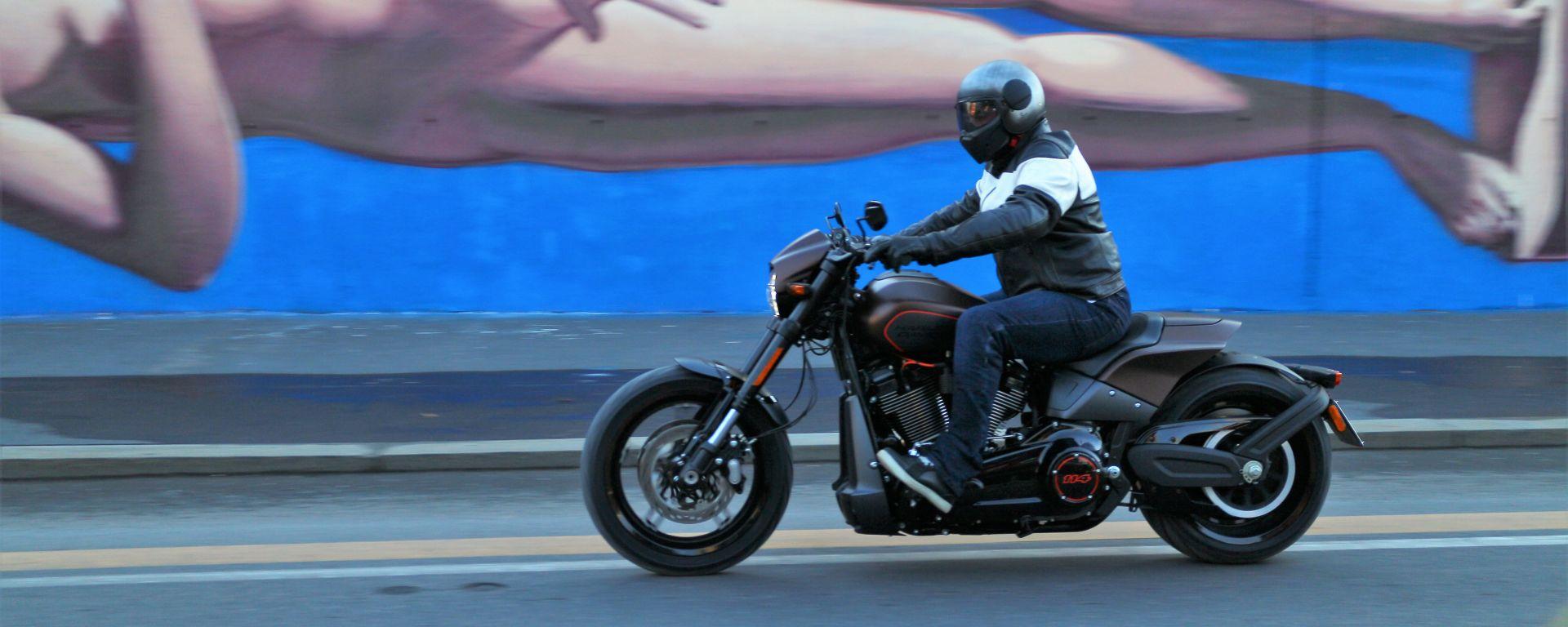Harley-Davidson FXDR 114: la prova su strada