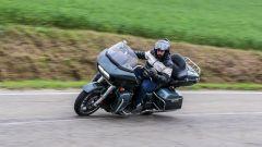 Harley Davidson gamma Touring 2020: la prova su strada