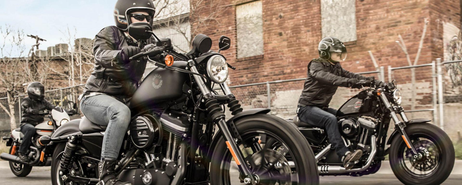 Harley-Davidson: prova la gamma 2019 il 23 e 24 marzo