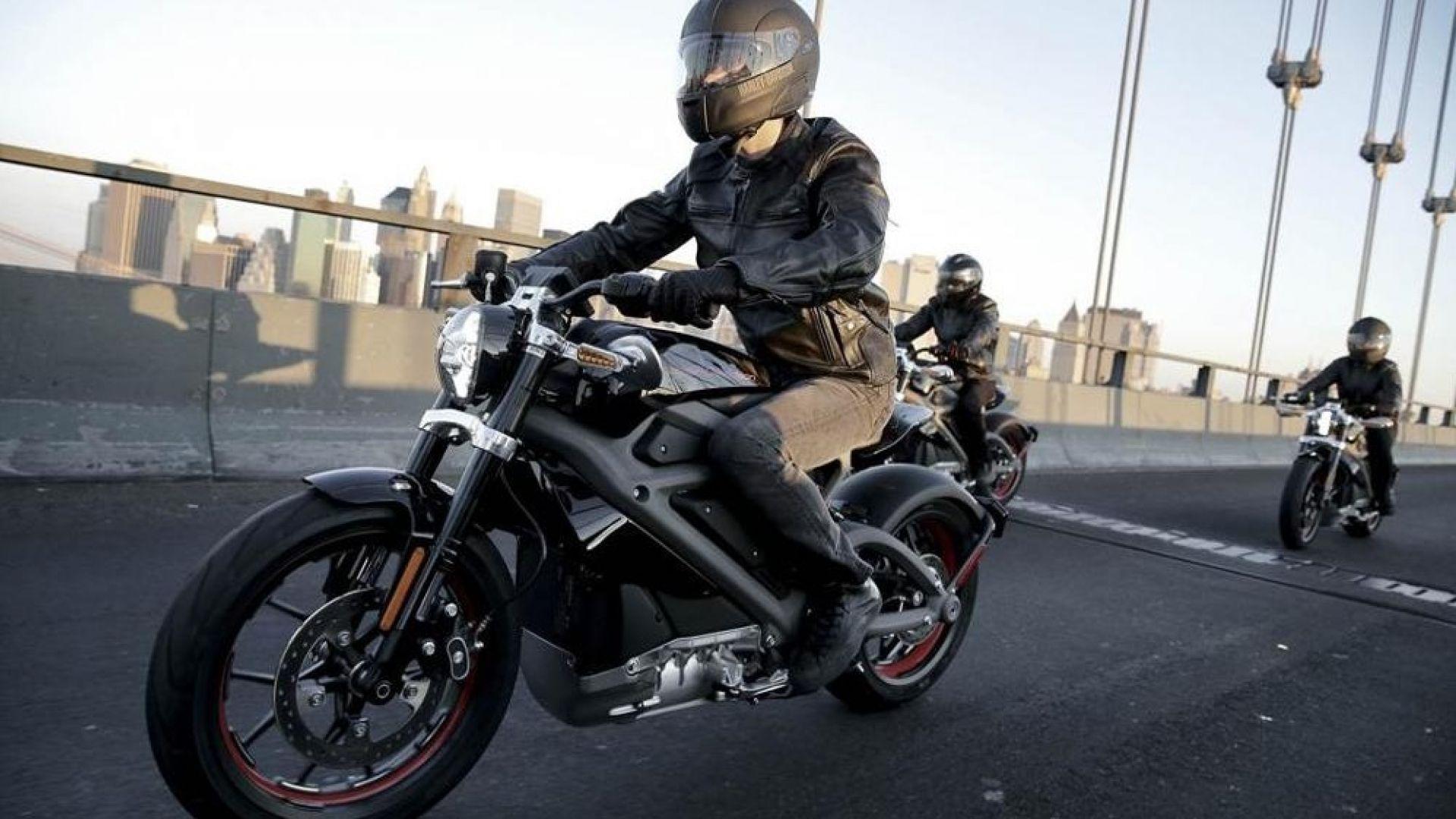 Harley Davidson: La Moto Elettrica LiveWire Arriverà Nel