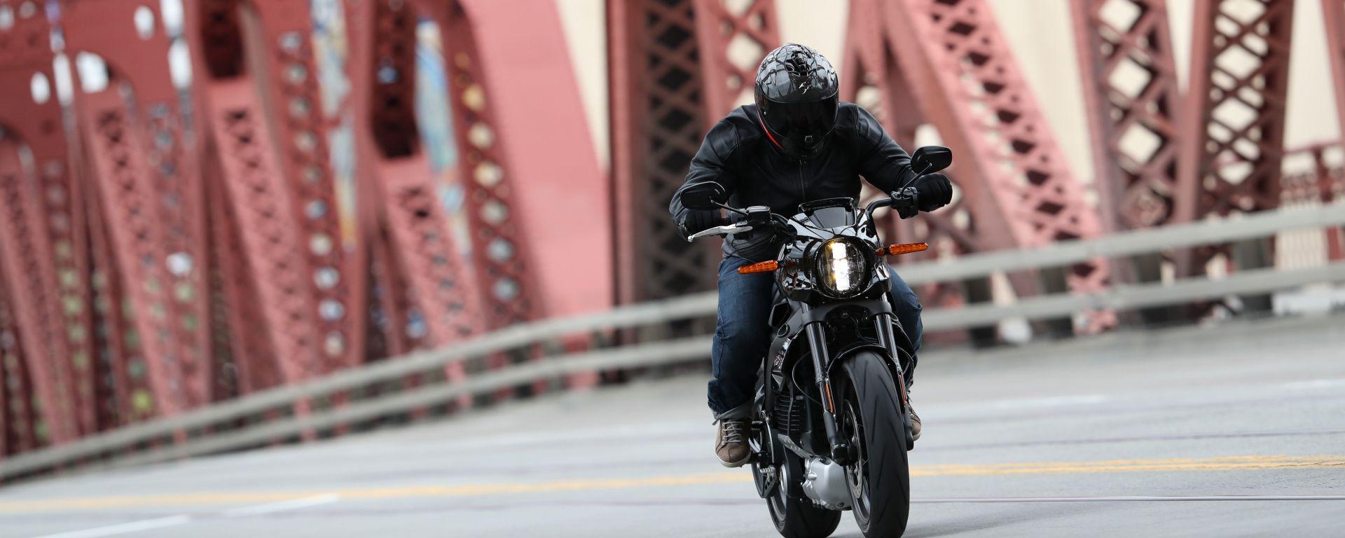 1.700 km in 24 ore, il record della Harley-Davidson Livewire