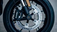 Harley Davidson Livewire: dettaglio del freno Brembo anteriore
