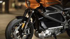 Harley Davidson Livewire: dettaglio del telaio