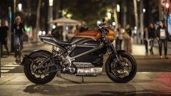 Harley-Davidson LiveWire: foto in notturna