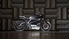 Harley Davidson Livewire in camera anecoica