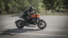 Harley Davidson Livewire: la posizione in sella