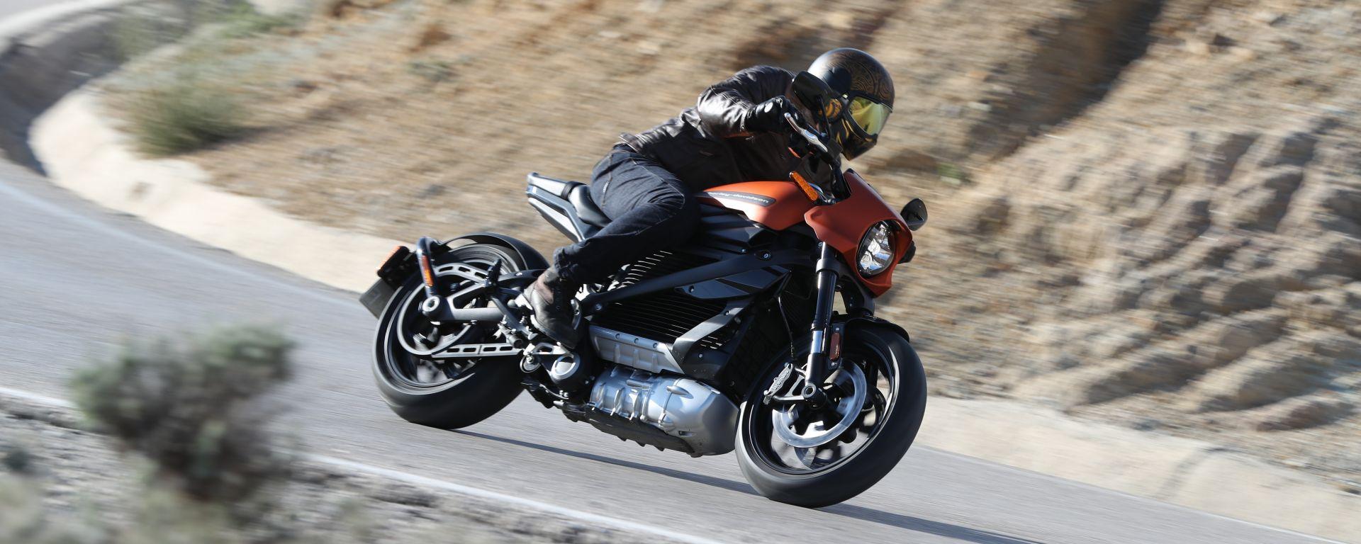 Harley-Davidson LiveWire, tutta muscoli e zero emissioni