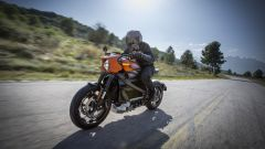 Harley Davidson Livewire: vista 3/4 anteriore