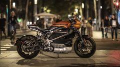 Harley Davidson Livewire: vista laterale