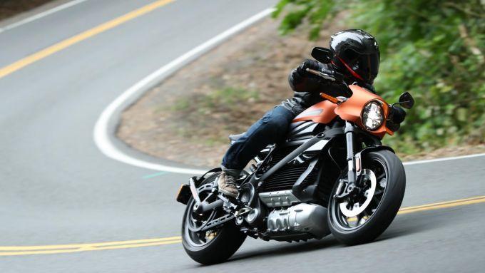 La Harley LiveWire è quella con più coppia alla ruota