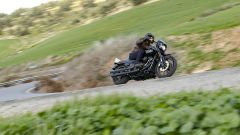 Harley-Davidson Low Rider S durante la prova