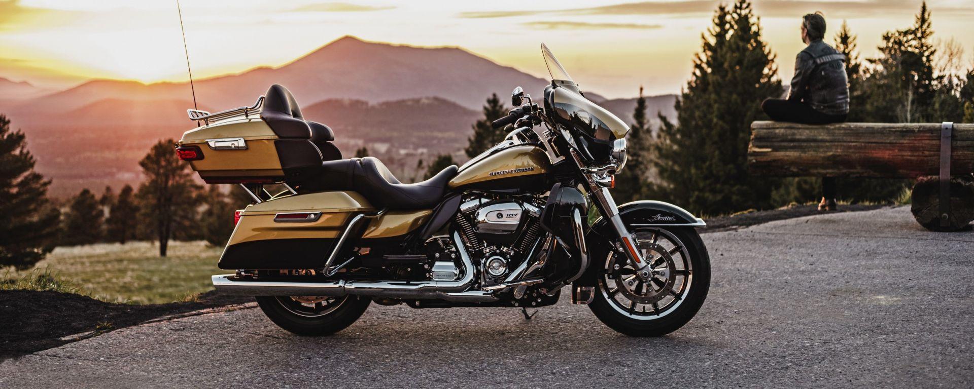 Harley-Davidson nuovo motore Milwaukee Eight