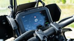 Harley Davidson Pan-America 1250 Special, il display touch dell'infotainment