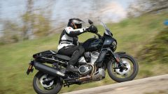 Harley-Davidson Pan America 1250 Special in azione