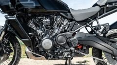 Harley Davidson Pan-America 1250 Special, lato sinistro del motore Revolution Max
