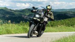 Harley Davidson Pan-America 1250 Special, un momento del test ride