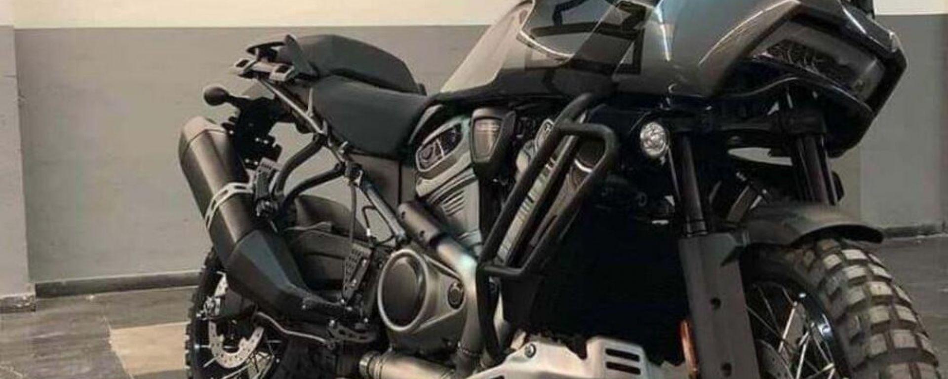 Harley-Davidson: la Pan America è già in Europa. Foto e rumors