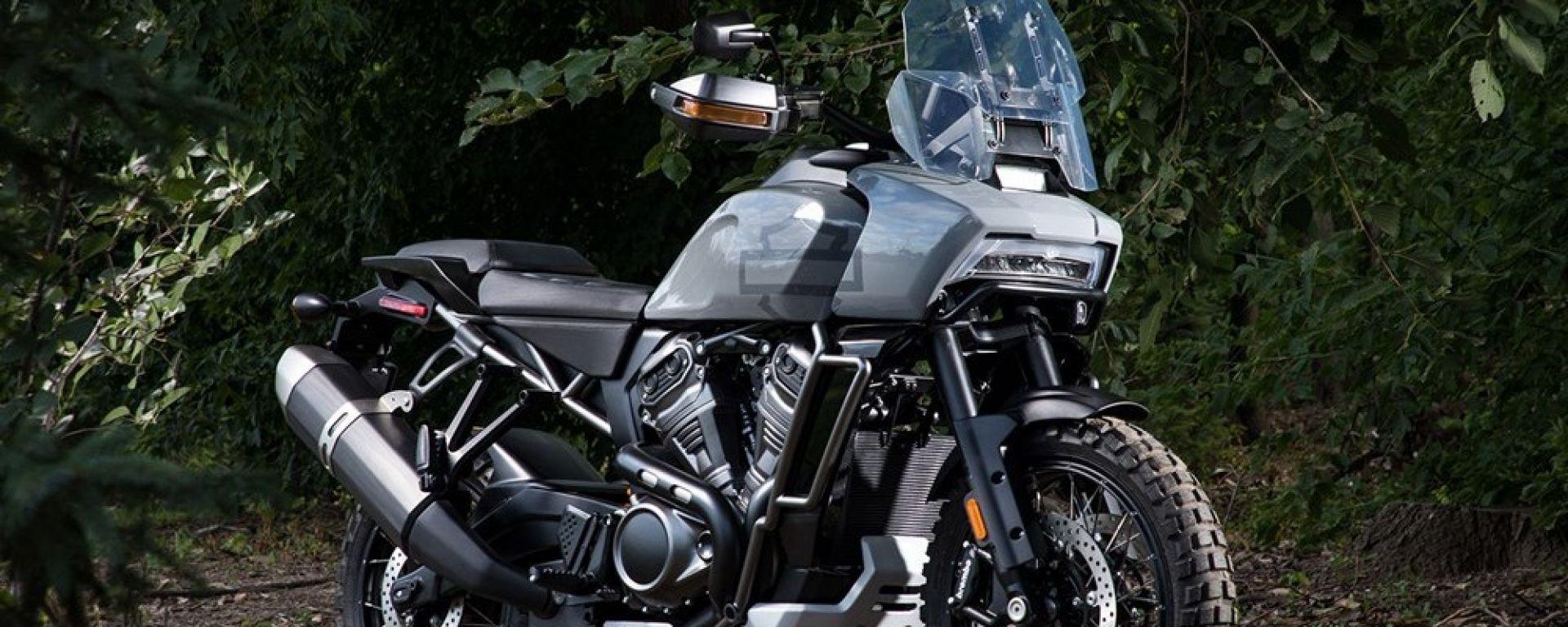 Harley davidson pan america ecco come sar l 39 enduro di harley davidson motorbox - Sigle harley davidson ...