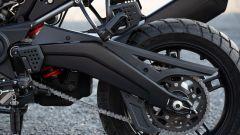Harley-Davidson Pan America, il forcellone è in alluminio pressofuso