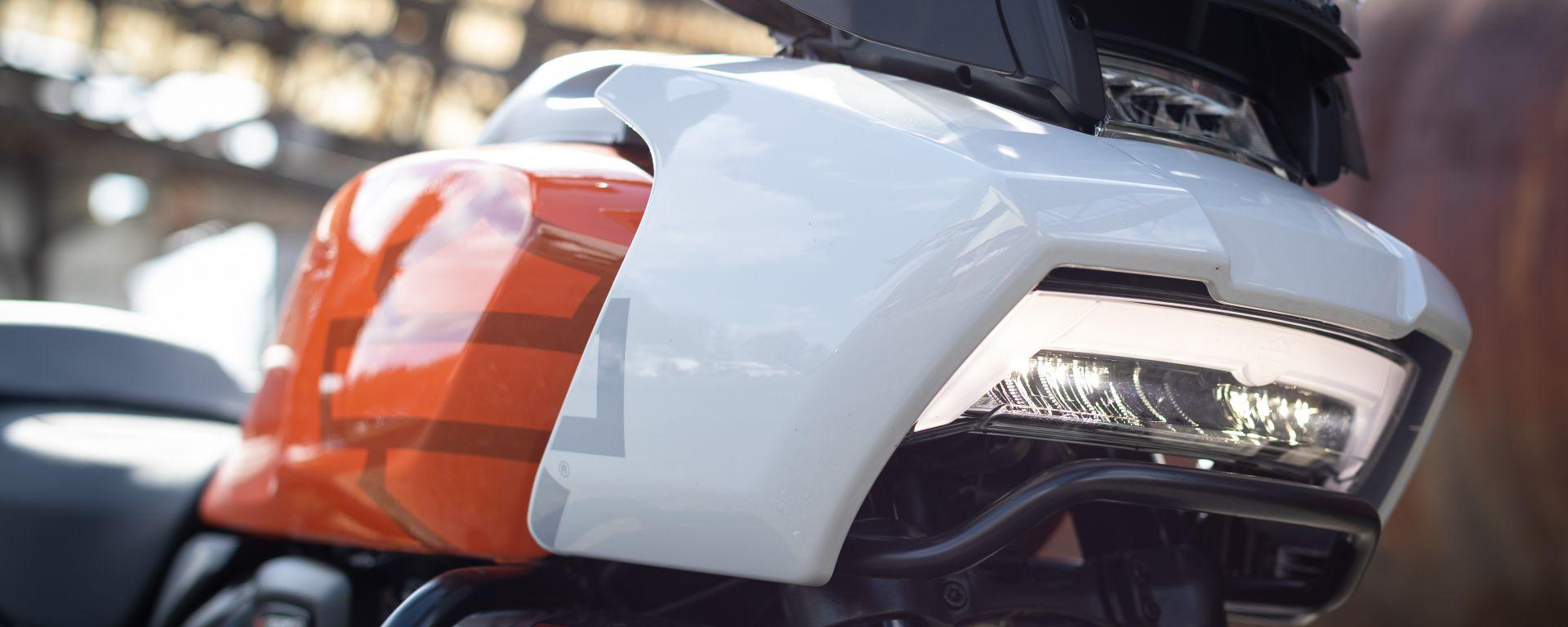 Harley-Davidson Pan America, il frontale s'ispira alle Touring della casa