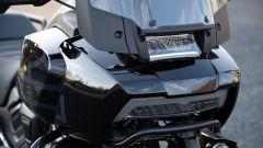 Harley-Davidson Pan America, il LED in stile Fat Bob servono per le luci cornering