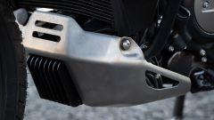 Harley-Davidson Pan America, il regolatore di tensione rimane esposto anche con il paracoppa