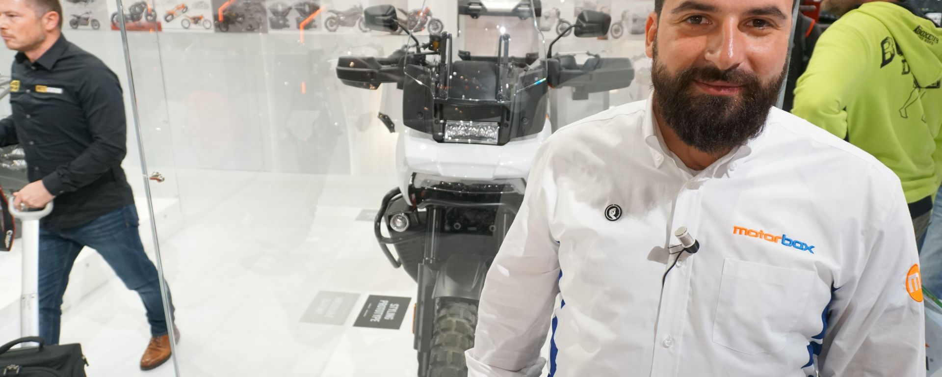 Harley-Davidson Pan America 2020 in video da Eicma 2019