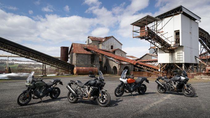 Harley-Davidson Pan America, la gamma tra standard e Special