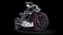Harley-Davidson Project Livewire, il look è sempre dark