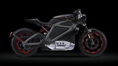 Harley-Davidson Project Livewire, vista di profilo