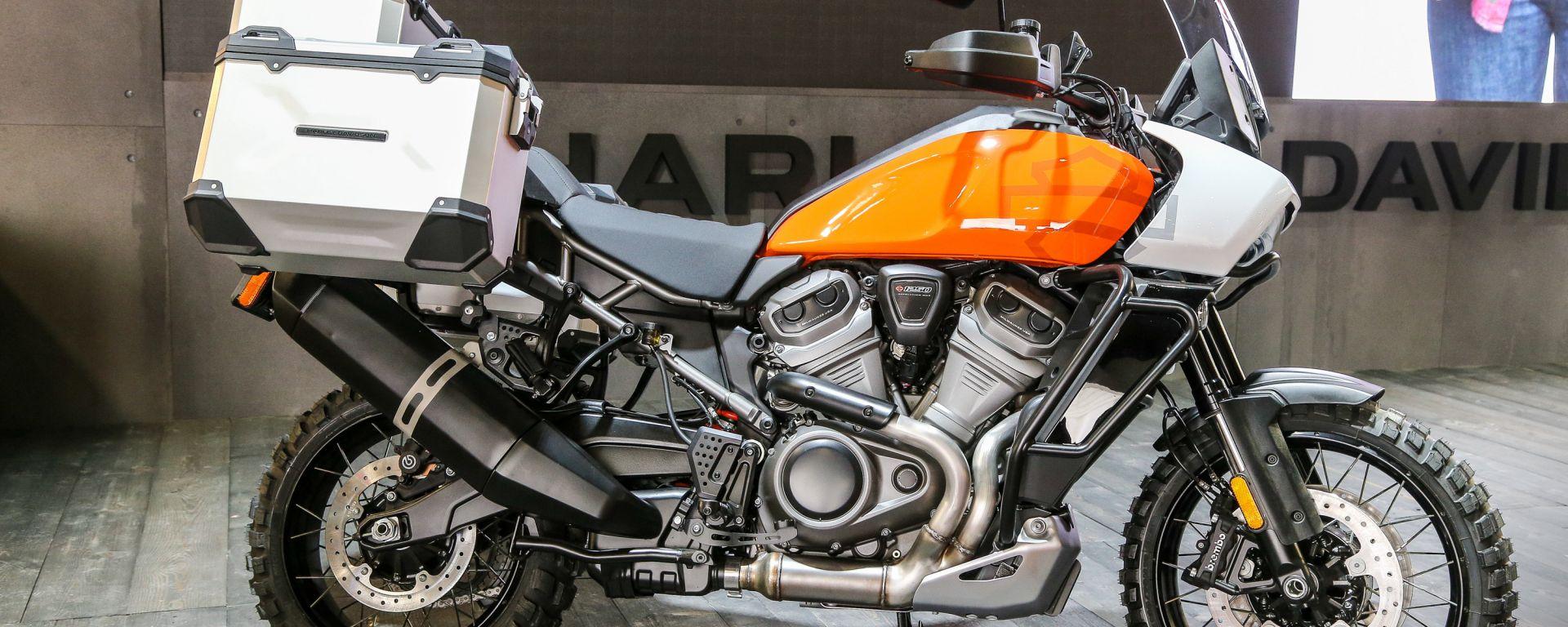 Harley-Davidson: slitta l'arrivo di Pan America e Bronx