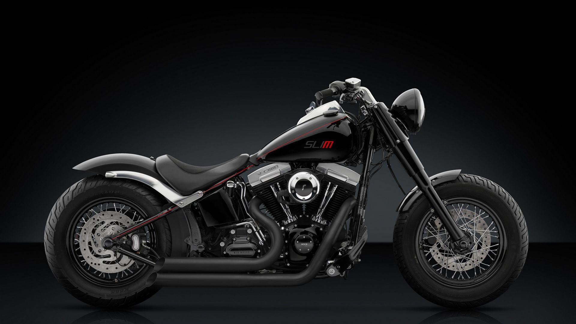 Harley Softail Slim >> Eicma 2016: Rizoma: una linea di accessori per l'Harley ...