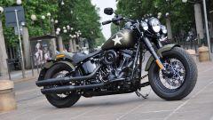 Harley-Davidson Softail Slim S con vernice Olive Green Denim