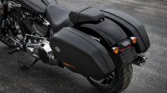 Harley Davidson Sport Glide 2018, borse da viaggio