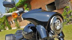 Harley Davidson Sport Glide: dettaglio del cupolino