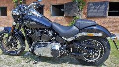 Harley Davidson Sport Glide: dettaglio del posteriore