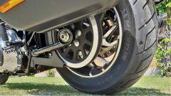Harley Davidson Sport Glide: dettaglio della trasmissione a cinghia