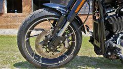 Harley Davidson Sport Glide: il disco singolo anteriore