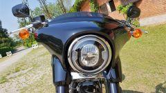 Harley Davidson Sport Glide: il frontale